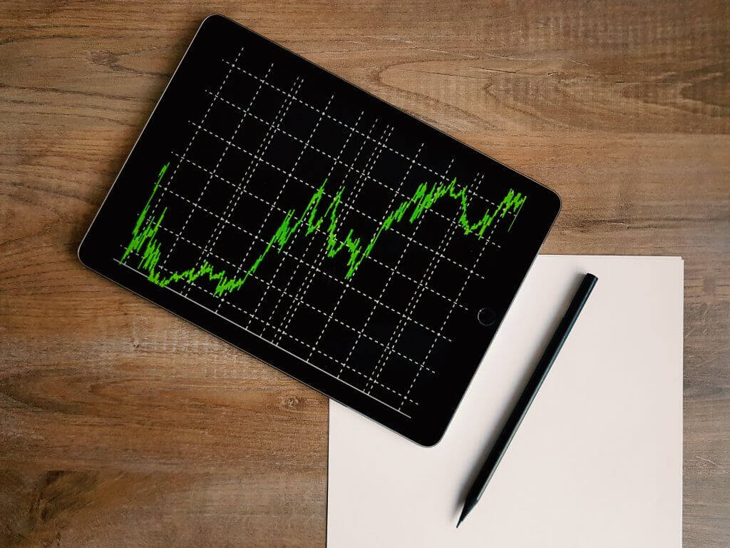 Photo of an analytics chart